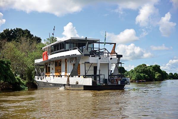 Barco Mutum's 5-Day Jaguar Nights Itinerary Day Five - Disembarkation.