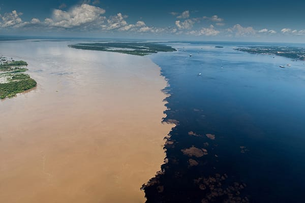 Juma Amazon Lodge's 5-Day Tucano Program Day One - Meeting of the Waters.