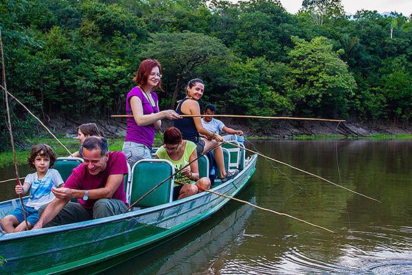 Juma Amazon Lodge's 5-Day Tucano Program Day Two - Piranha Fishing.