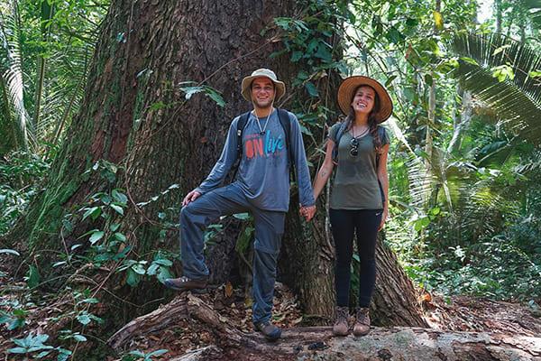 Juma Amazon Lodge's 5-Day Tucano Program Day Three - Jungle Hike.