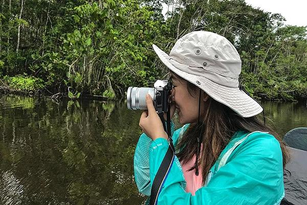 La Selva Amazon Ecolodge & Spa 4-Day Lodge Program Day One - Canoe Ride.