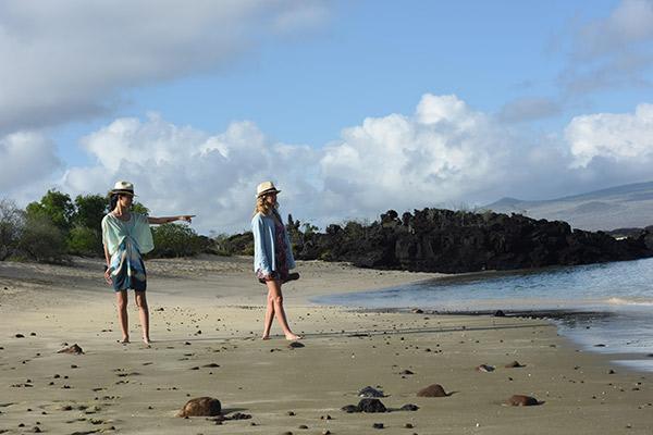 Seaman Journey's 12-Day Itinerary Day One - San Cristobal Beach.