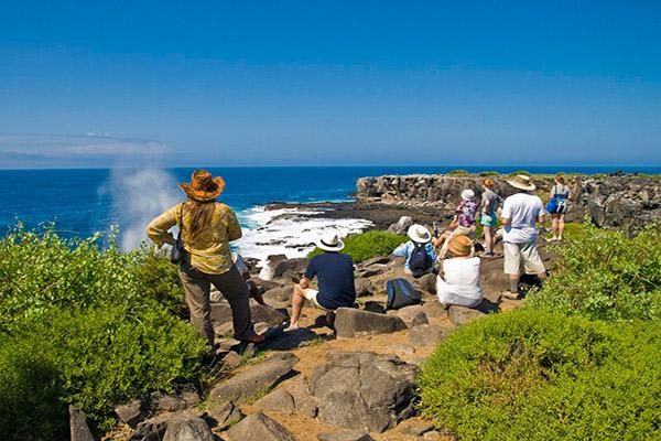 Seaman Journey's 12-Day Itinerary Day Three - Exploring Española Island.