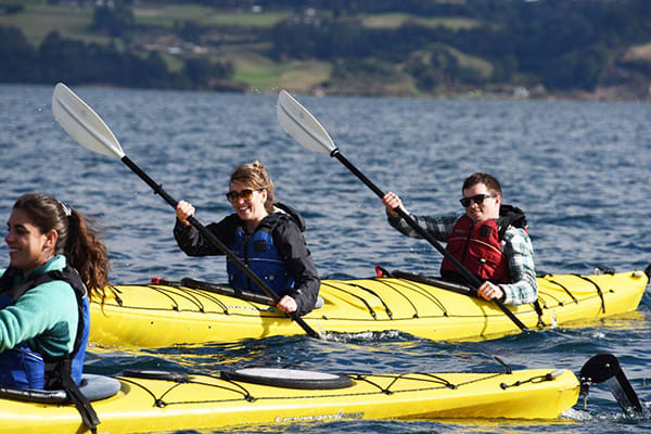 Tierra Chiloé's 4-Day All Inclusive Program Day Three - Kayaking Excursion.