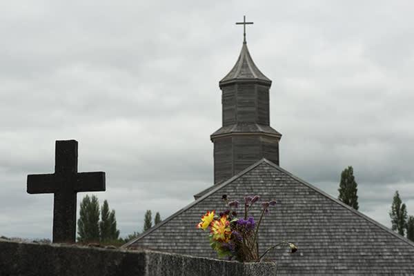 Tierra Chiloé's 5-Day All Inclusive Program Day One - Castro Church.