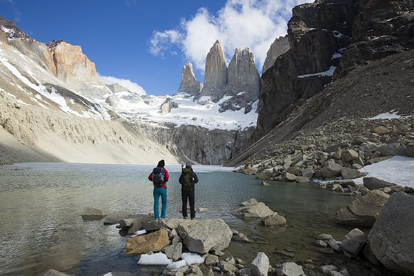Tierra Patagonia's 5-Day All Inclusive Program Day Two - Trail & Blue Lagoon.