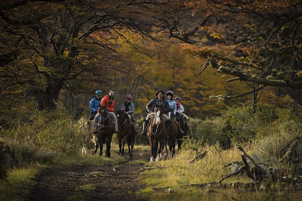 Tierra Patagonia's 7-Day All Inclusive Program Day Five - Horseback Riding.