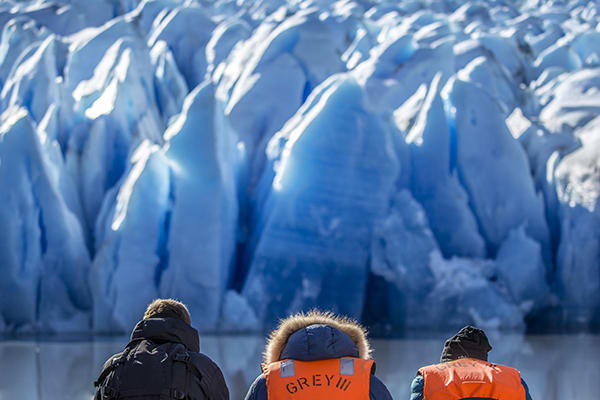 Tierra Patagonia's 7-Day All Inclusive Program Day Six - Sailing to a Glacier.