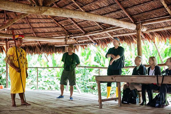 Manatee Amazon's 5-Day Itinerary Day Two - Amazon Community Visit.