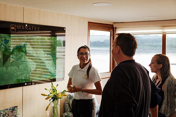 Manatee Amazon's 8-Day Itinerary Day One - Embarkation.