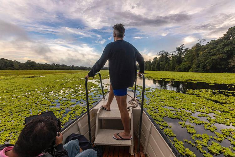 Delfin III Amazon's 5-Day Itinerary Day Four - Skiff Ride.