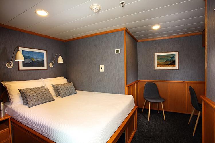 Isabela II's Standard Cabin.