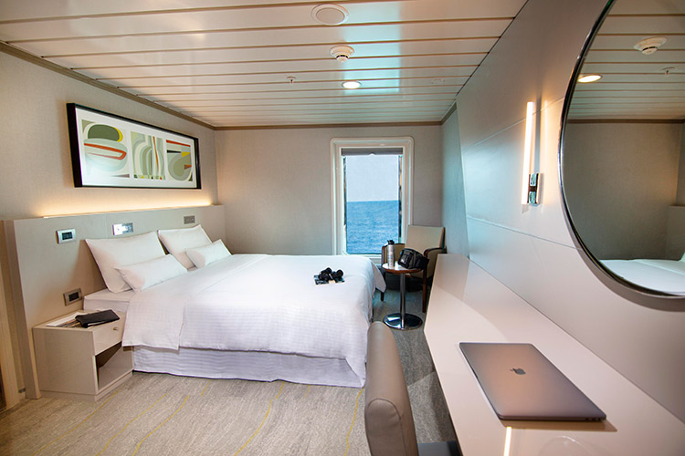 La Pinta's Luxury Cabin.