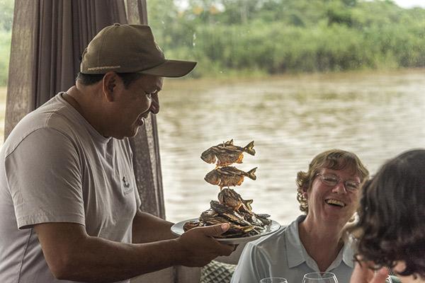 Perla's 7-Day Itinerary Day Three - Piraña Fishing.