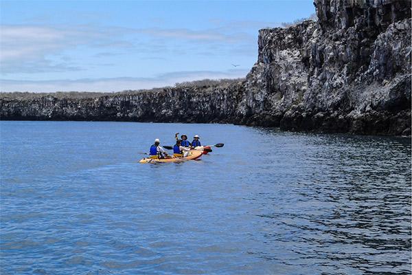 La Pinta's 5-Day Eastern Itinerary Day Three - Exploring Cerro Brujo Coastline.