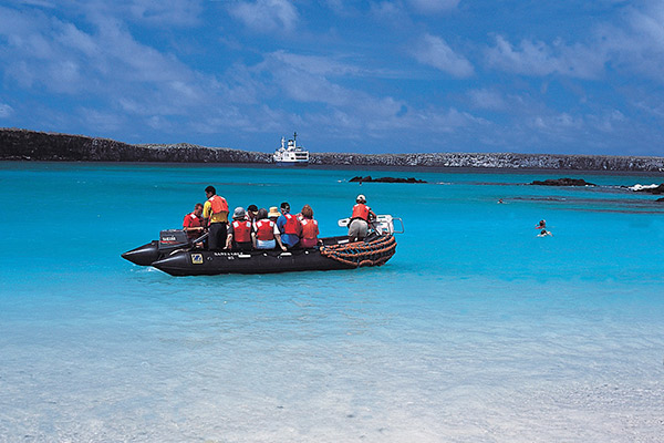 Isabela II's 5-Day Western Itinerary Day Four - Exploring the Galapagos Islands.