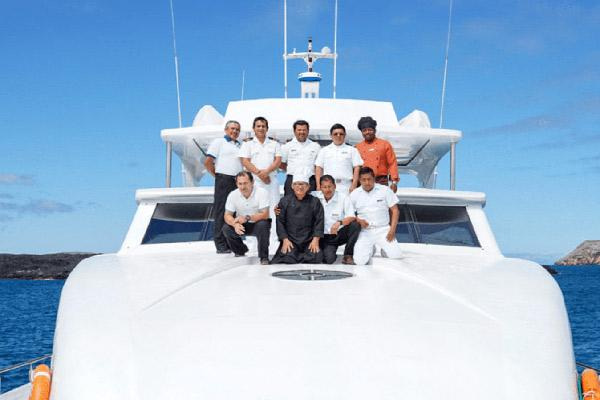 Grand Majestic's 8-Day Itinerary A Day Eight - Crew on Board.