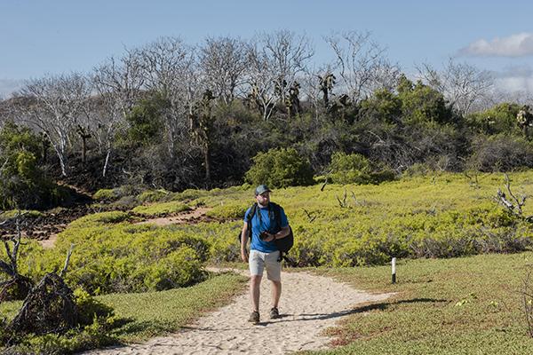 Galapagos Legend's 5-Day 'B' Itinerary Day Five - Exploring Santa Cruz Island.