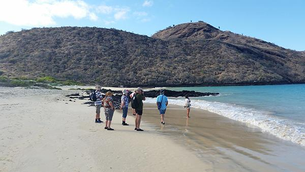 Galapagos Legend's 5-Day 'D' Itinerary Day Three - Visiting Floreana Island.