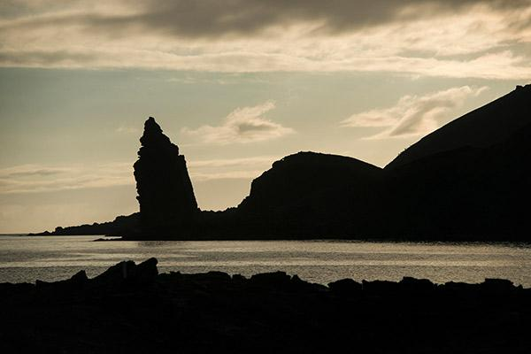Galapagos Legend's 8-Day 'C+D' Itinerary Day One - Pinnacle Rock Bartolome.