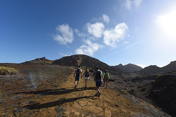 Galapagos Legend's 8-Day 'C+D' Itinerary Day Three - Walking along San Cristobal.