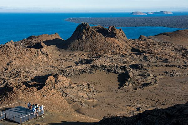 Galapagos Legend's 8-Day 'B+C' Itinerary Day Five - Bartolome Island Excursion.