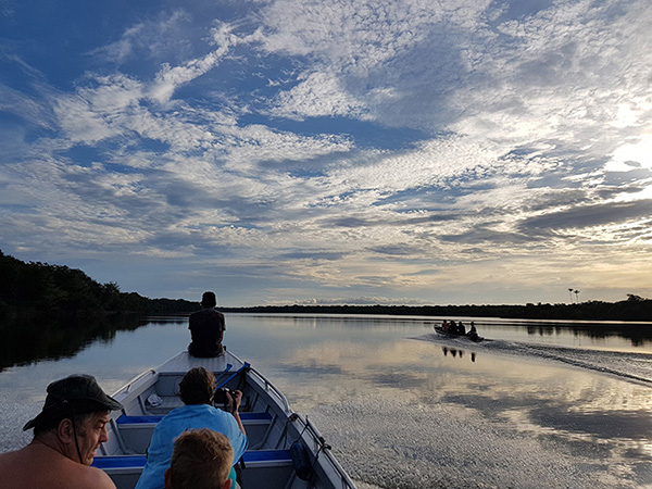 Lo Peix 7-Day Cruise Itinerary Day Five - Skiff rides on the river.