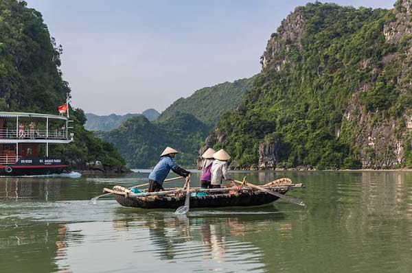 Angkor Pandaw's Red River Cruise Downriver Day Eight - Lan Ha Bay
