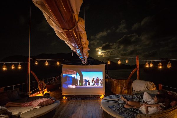 Sequoia's 8-Day Batanta Waigeo - Day Seven - Cinema under the Stars