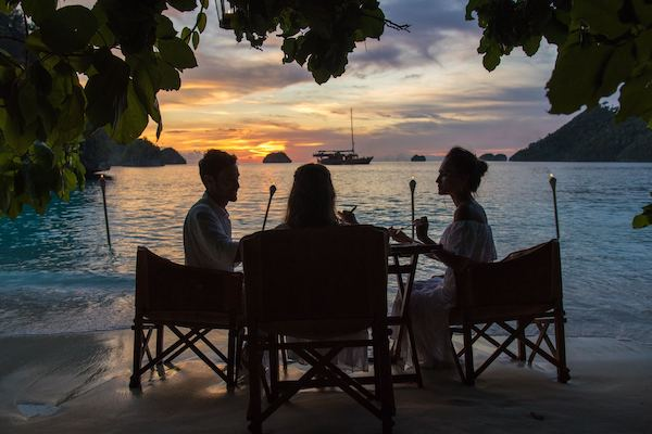 Sequoia's 15-Day The Wild Raja Ampat - Day Three - Private Dinner on The Beach