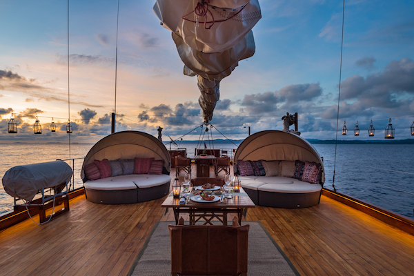 Sequoia's 15-Day The Wild Raja Ampat - Day Eight - Sunbeds