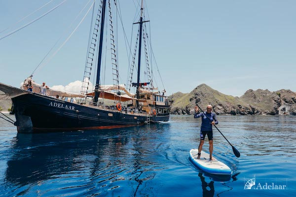 Adelaar's 11-Day Signature Bali Komodo Bali - Day One - Stand-up Paddle Board