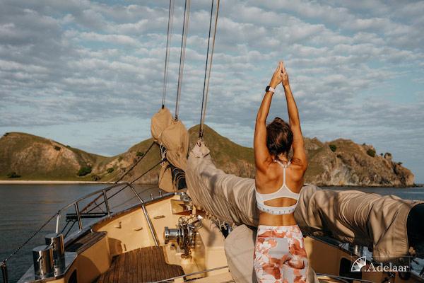 Adelaar's 11-Day Signature Bali Komodo Bali - Day Five - Yoga On Board