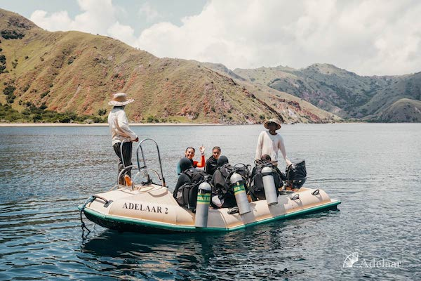 Adelaar's 11-Day Komodo Exclusive - Day One - Diving