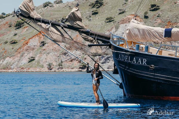 Adelaar's 11-Day Komodo Exclusive - Day Four - Stand-up Paddle Board