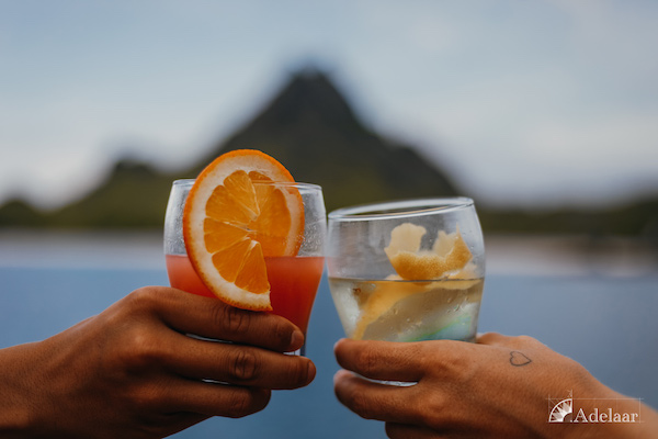 Adelaar's 11-Day Komodo Exclusive - Day Five - Sunset Cocktails