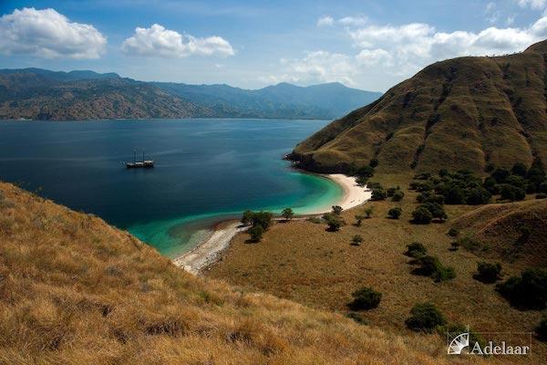 Adelaar's Komodo Extended Bali - Komodo - Day One - Stunning View from Komodo Island