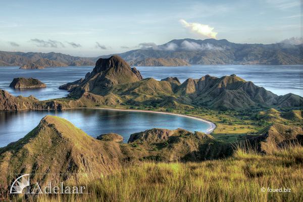 Adelaar's Komodo Extended Bali - Komodo - Day Ten - View from Komodo Island