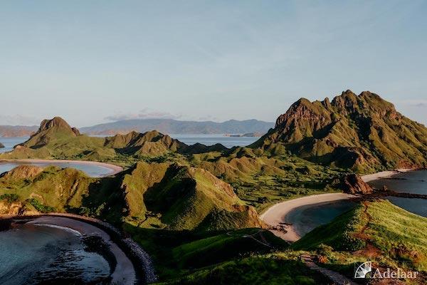 Adelaar's 11-Day Komodo Extended Komodo to Bali - Day Five - Stunning View from Komodo Island