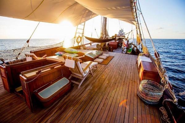 Carpe Diem's 8-Day Komodo Islands - Day Six - Sunset On Board
