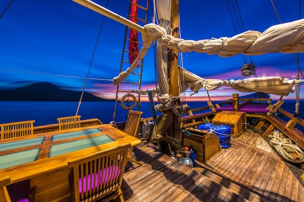 Carpe Diem's 8-Day Central and North Raja Ampat - Day Four - Evening On Board