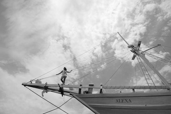 Alexa's 5-Day Komodo - Day One - Stunning Boat View