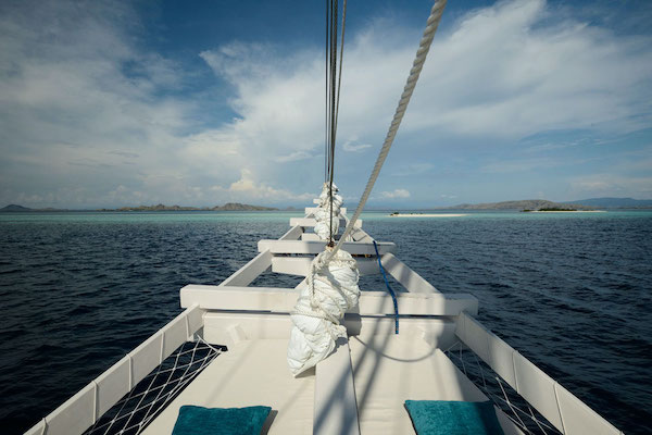 Alexa's 6-Day Labuan Bajo to Sumba - Day One - Private Sundeck