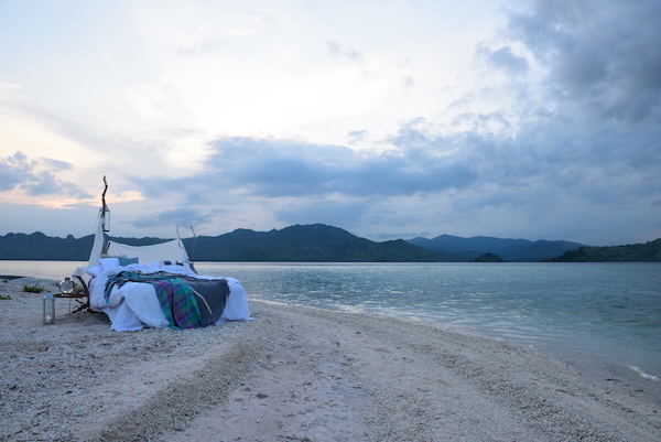 Alexa's 7-Day Moyo Komodo - Day One - Sleeping on Private Beach