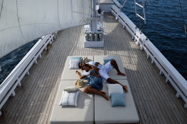 Alexa's 6-Day Labuan Bajo to Sumba - Day Four - Relaxing on Sundeck
