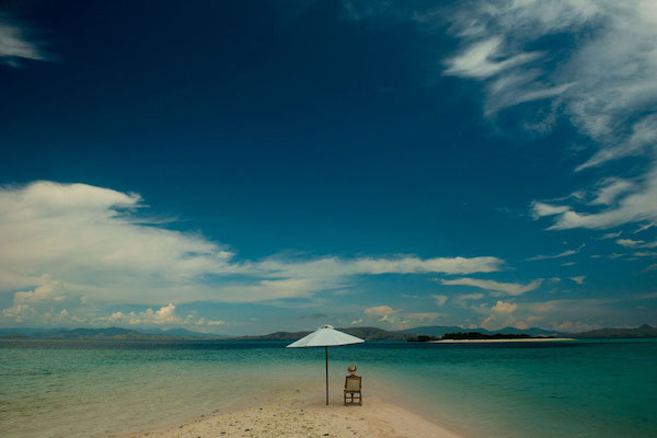 Alexa's 13-Day Raja Ampat (Kaimana to Sorong) - Day One - Private Chill Set Up on The Beach