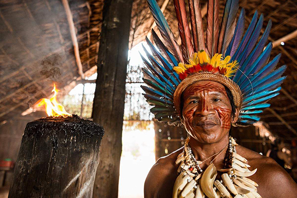 Amazon Eco Boat's 6-Day Immersion Cruise Day Two -  Native People of the Amazon.