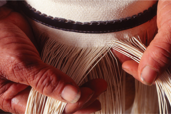Kontiki's 8-Day Toquilla Expedition Itinerary Day Four - Making a Toquilla Straw Hat.