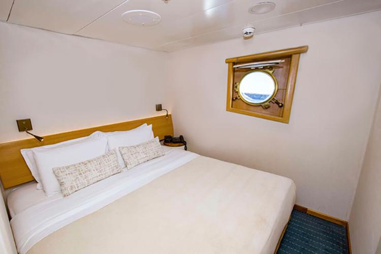 Galapagos Legend's Standard Interior Suite.