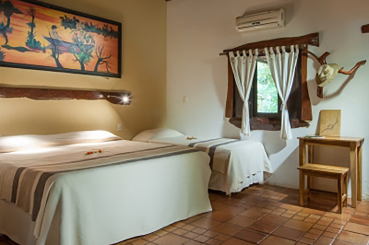 Araras Eco Lodge's Family Room.